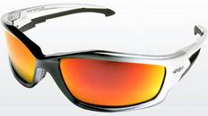 Edge #SKAP119 Kazbek Safety Eyewear w/ Red Mirror Lens