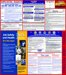 Federal Labor Law Posters - English & Spanish