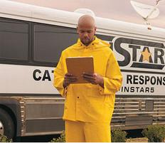 MCR Classic FR Rainsuits 35 Mil Yellow PVC 3 piece Rainsuit
