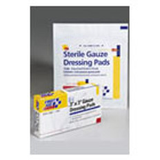 "3"" X 3""Gauze Dressing Pad 4/Box"