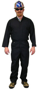 Indura Coveralls - Navy Blue - Size Small to 5XL