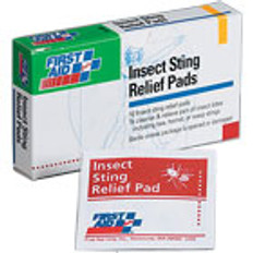Insect Sting Relief Pads (10 p/Box)