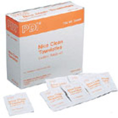 "Instant Wash-Up Towelette - 5"" X 8"" (100 p/Box)"