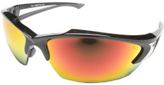Edge #SDKAP119 Khor Safety Eyewear w/ Red Mirror Lens