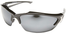Edge #SDK117 Khor Safety Eyewear w/ Silver Mirror Lens