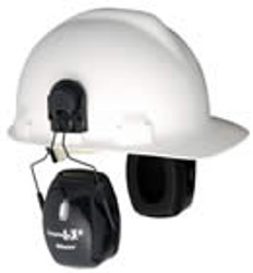 Leightning L3H NRR 27 Earmuff Hard Hat Mount