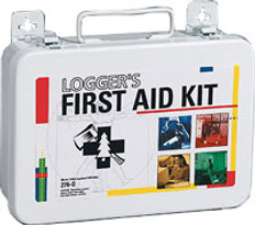 Logger's First Aid Kit - 71-piece - Plastic Case
