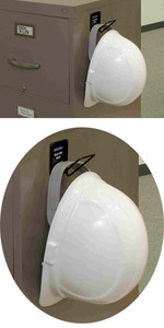 Rackems #5003 Safety Helmet Magnectic Mounting Rack