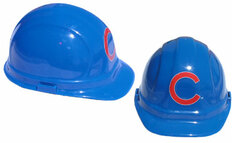 Chicago Cubs MLB Baseball Safety Helmets with pin lock suspensions