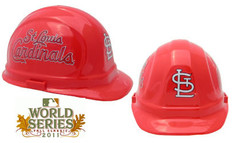 St Louis Cardinals MLB Baseball Safety Helmets with pin lock suspensions