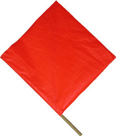 Safety Flag 18 inch by 18 inch