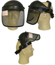 ERB #15157 Safety Helmet Mesh Face Shield ~ Details