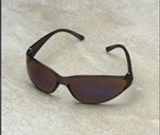 ERB #15287 Boas Safety Eyewear w/ Blue Mirror Lens