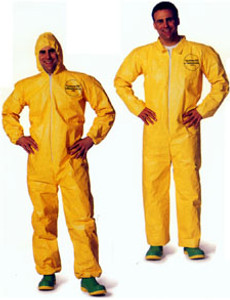 Tyvek® QC Coveralls Standard Suit with Zipper Front (12 per case)