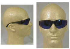 Gateway #469M Starlite Safety Eyewear w/ Blue Mirror Lens