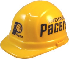 Indiana Pacers NBA Basketball Safety Helmets- Oblique View