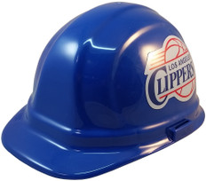 Los Angeles Clippers NBA Basketball Safety Helmets - Oblique View