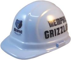 Memphis Grizzlies NBA Basketball Safety Helmets - Oblique View
