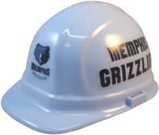 Memphis Grizzlies NBA Basketball Safety Helmets - Oblique View
