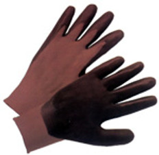 Nylon Grey Seemless Knit with Nitrile Coated Palm on one side (sold by the dozen)