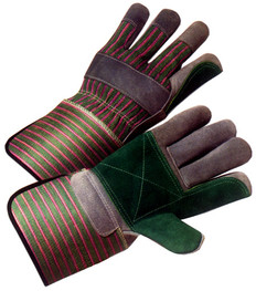 Double Palm Work Glove with Gauntlet Cuff (priced and sold by the dozen)