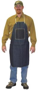 Denim Apron with 1 chest pocket, 28 x 36 (12 per case)