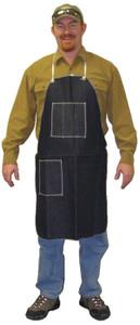 Denim Apron with 1 Chest Pocket & 1 Hip pocket, 28 x 36 (12 per case)