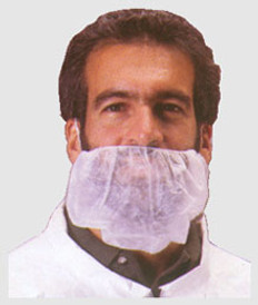 Polypropylene Beard Covers WHITE (1000 per case)