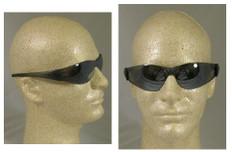 MCR Crews #CK117 Checkmate Safety Eyewear w/ Silver Mirror Lens