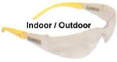 Dewalt #dpg54-9 Protector Safety Eyewear w/ Indoor Outdoor Lens