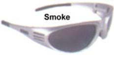 Dewalt #dpg56-2 Ventilator Safety Eyewear Silver Frame w/ Smoke Lens