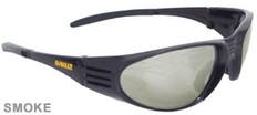 Dewalt #DPG56B-2 Ventilator Safety Eyewear Black Frame w/ Smoke Lens