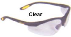 Dewalt #dpg58-1 Reinforcer Safety Eyewear w/ Clear Lens