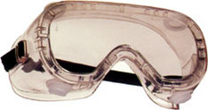 Pyramex #G204 Indirect Vent Safety Eyewear Goggles w/ Clear Lens