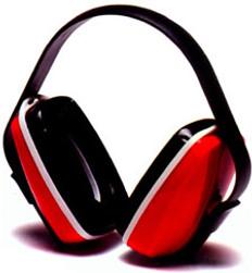 Pyramex NRR 22 Red Earmuff