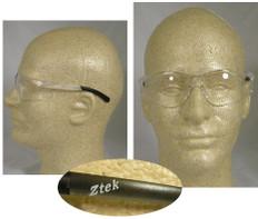 Pyramex #S2510S Ztek Safety Eyewear w/ Clear Lens