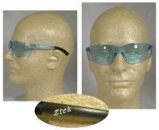 Pyramex #S2560S Ztek Safety Eyewear w/ Light Blue Lens