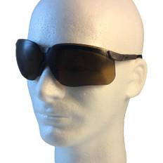 Uvex #S3221 Genesis Safety Eyewear Earth Frame w/ Espresso Lens