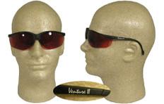 Pyramex #SB18355 Venture II Safety Eyewear w/ Copper Lens