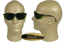 Pyramex #SB1860SF Venture II Safety Eyewear w/ 3.0 Green Lens