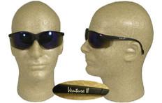 Pyramex #SB1875S Venture II Safety Eyewear w/ Blue Mirror Lens