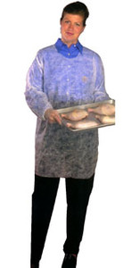Poly Poultry Smock, Elastic Wrists (50 per case)