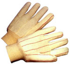 Double Palm Cotton/Polyester (Polychord) Glove (sold by the dozen)