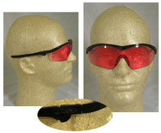 MCR Crews #ST11V Storm Safety Eyewear w/ Vermilion Lens