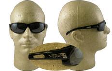 Edge #sw117 Dakura Safety Eyewear w/ Silver Mirror Lens