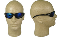 Edge #sw118 Dakura Safety Eyewear w/ Blue Mirror Lens