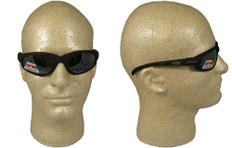 Edge #tsm21-g15-7 McKinley Safety Eyewear w/ Polarized G15 Silver Mirror Lens