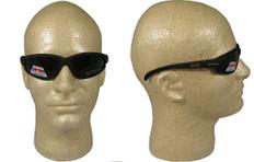 Edge #tsm216 McKinley Safety Eyewear w/ Polarized Smoke Lens