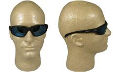 Edge #tsmap218 McKinley Safety Eyewear w/ Polarized A.P. Blue Mirror Lens