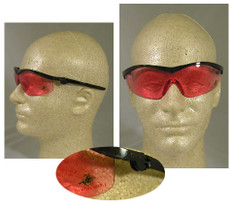MCR Crews #WIN1V Winchester Safety Eyewear w/ Vermilion Lens
